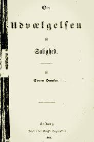 Søren Hansen: Om Udvælgelsen til Salighed (1869)