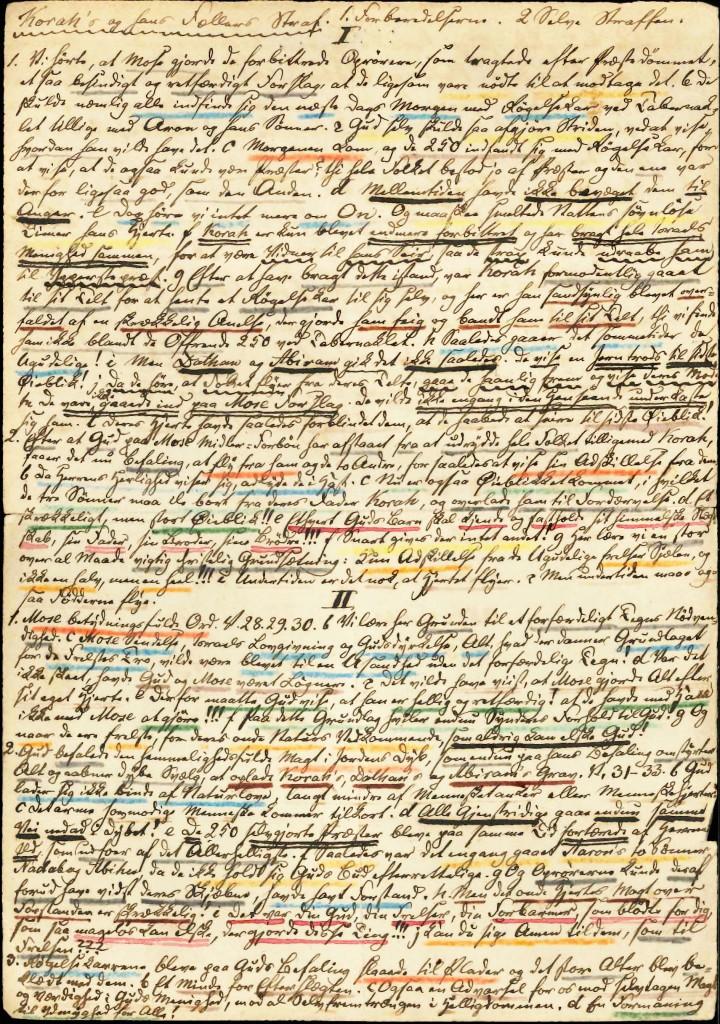 Julius Købner: Prædikenmanuskripter