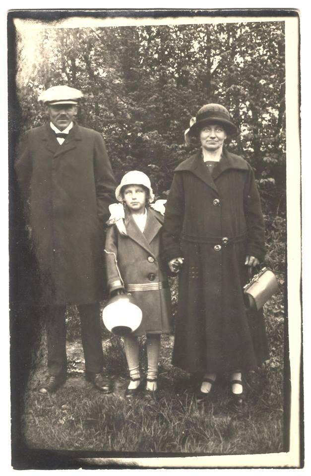 Lydklip med Marie Jørgensen (1886-1989) fra Bornholms Ø-arkiv
